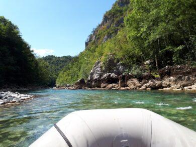 Рафтинг в Черногории на реке Тара