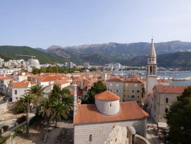 Города и курорты в Черногории
