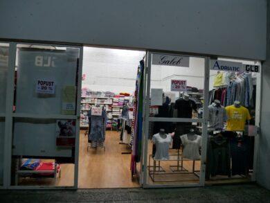 Магазин с македонскими товарами в Будве, Черногория