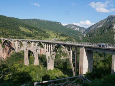 Мост Джурджевича Тара в Черногории